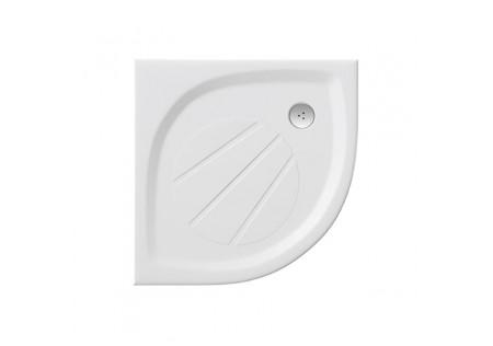 Полукруглый поддон из литого мрамора Elipso Pro