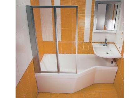 Шторка для ванны VS2 сатин