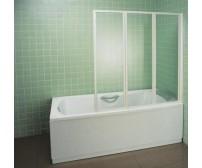 Шторка для ванны VS3 100 белая