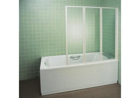 Шторка для ванны VS3 130 белая