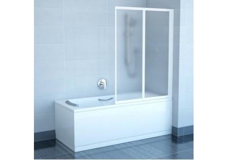 Шторка для ванны VS2 белая