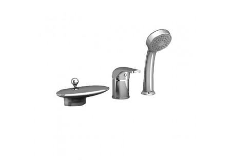 Врезной смеситель для ванн RS 025.00